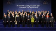 Hungarian delegation at the Nuclear Security Summit in The Hague